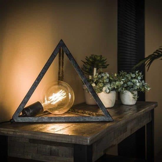 tafellamp donkere lamp