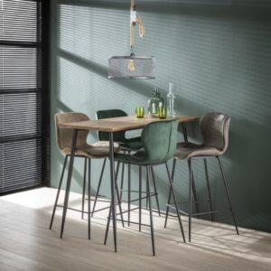 bartafel hoge tafel houten tafel kleine bartafel industriele bartafel
