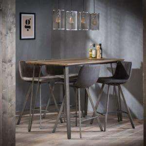bartafel hoge tafel industriele tafel houten tafel