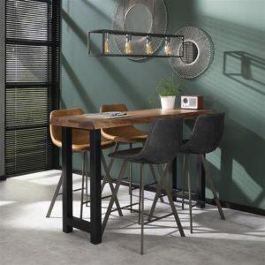 bartafel houten tafel hoge tafel eetkamer tafel rechthoekige tafel