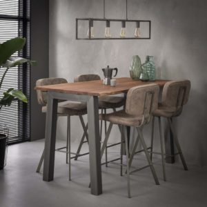 bartafel hoge tafel houten hoge tafel houten tafel