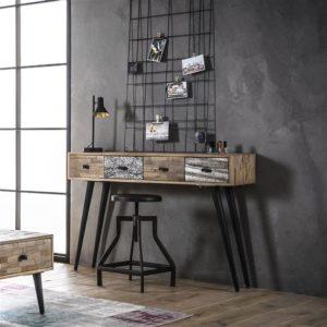 side table tafel lade kast hal kast houten kast
