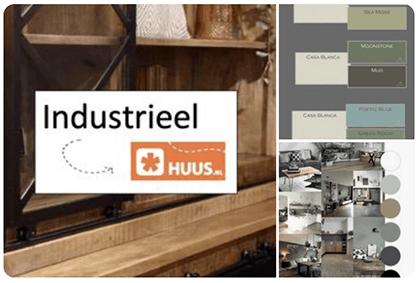 Pinterest stijlbord Industrieel interieur HUUS.nl blog Verthuizen