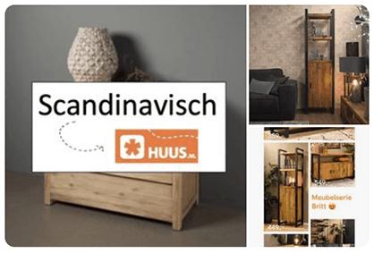 Pinterest stijlbord Scandinavisch interieur HUUS.nl blog Verthuizen
