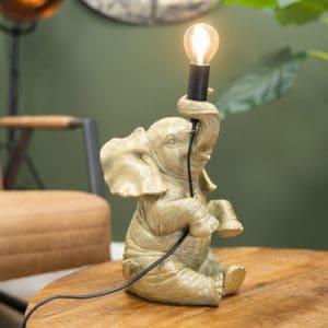 HUUS.nl Decostar lampen tafellampen tafellamp olifantje hoofdafbeelding